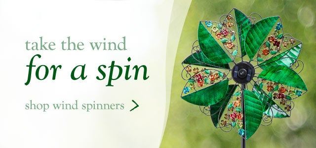 Take the wind for a spin - Shop Wind Spinners
