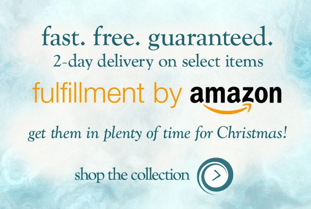 fast. free. guaranteed. 2-day delivery on select items fulfilled by Amazon!