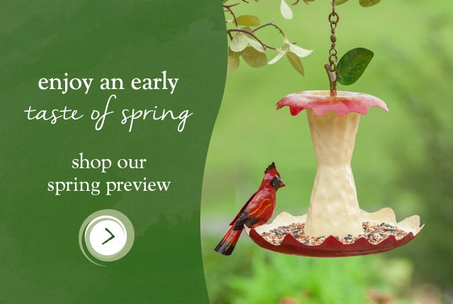 Enjoy an early taste of Spring - Shop our Spring Preview