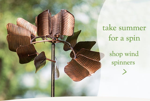 Take summer for a spin - shop wind spinners