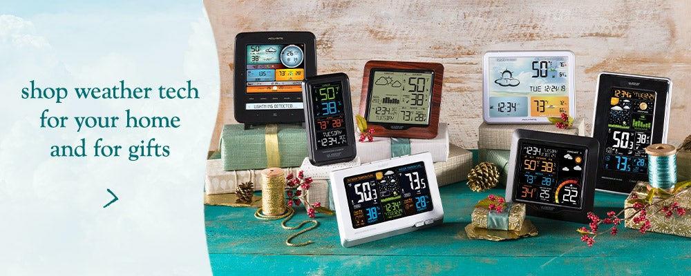 Shop weather tech for your home or for gifts