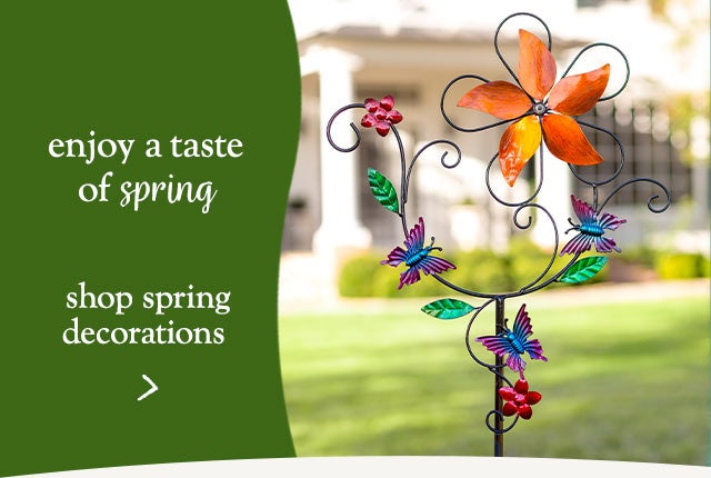 Enjoy a taste of Spring - Shop Spring decorations
