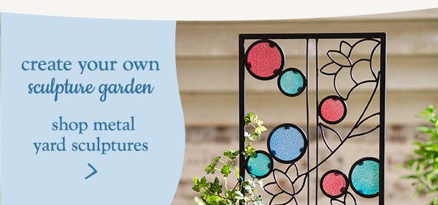 create your own sculpture garden. Shop metal yard sculptures