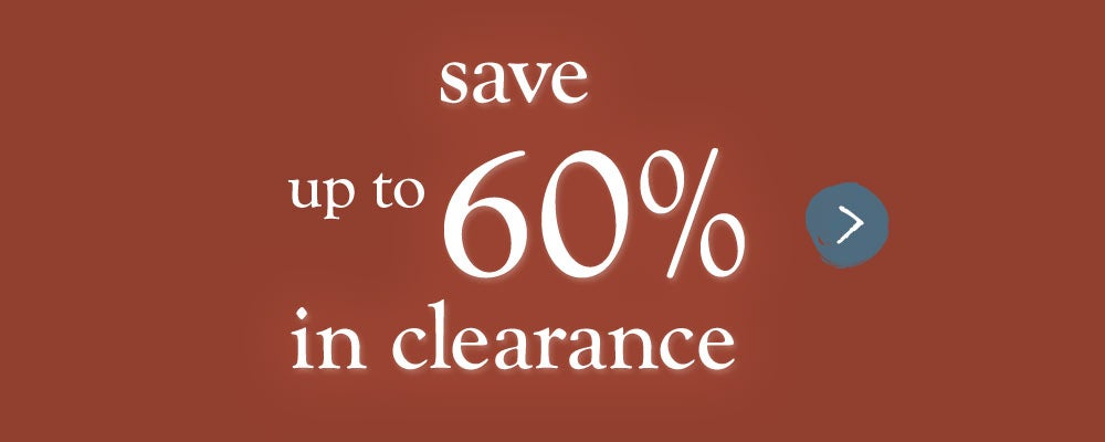 clearance save up to 60%